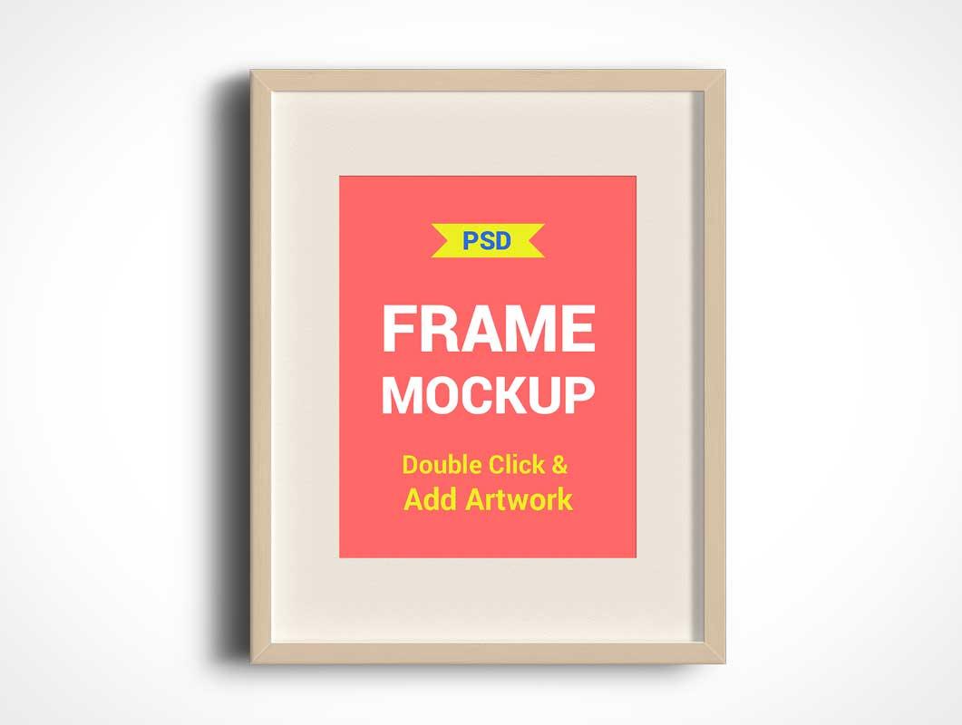 Photo Frames PSD Mockups
