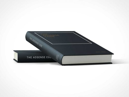 Photorealistic Hardcover PSD Mockup Composition