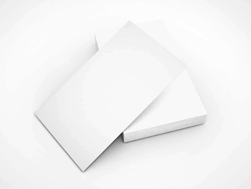 Perfect Plain White Business Cards Photos Business Card Ideas