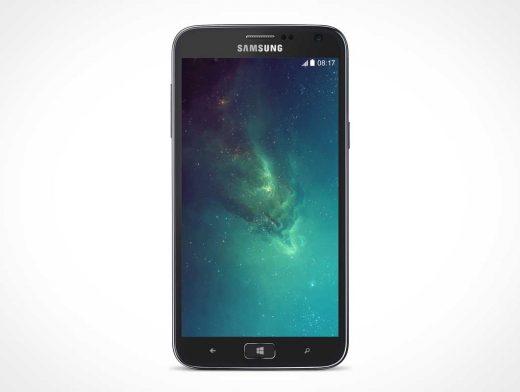 Samsung ATIV S PSD Mockup Home Screen