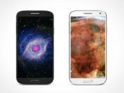 Samsung Galaxy S4 PSD Mockup Smartphones