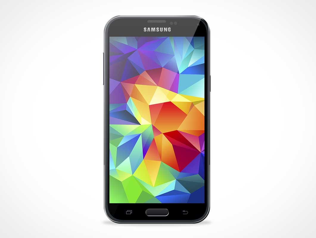 Samsung Galaxy S5 Mockup For Android