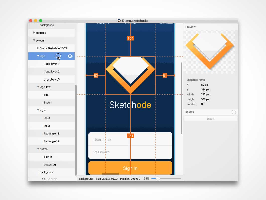 Sketchcode: Design Solution for Developers
