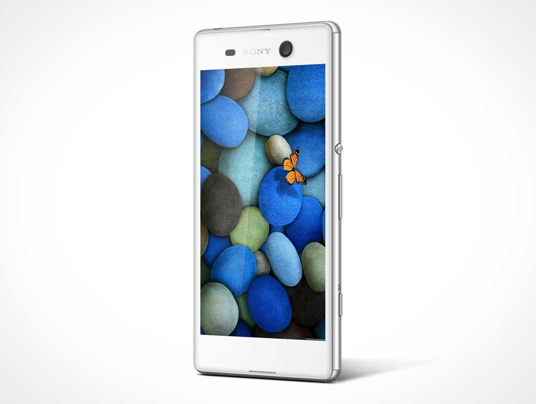 Sony Xperia M5 PSD Mockup