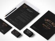 Stationery Branding PSD Mock Up Vol 3-2