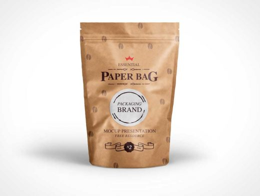 Psd Paper Bag Mock-Up Template Vol2