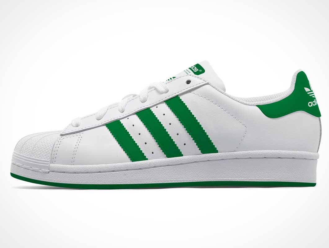 Adidas Superstar PSD Mockup Sneaker Shoe