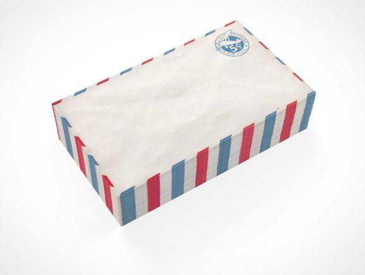 Envelope Stack PSD Mockup