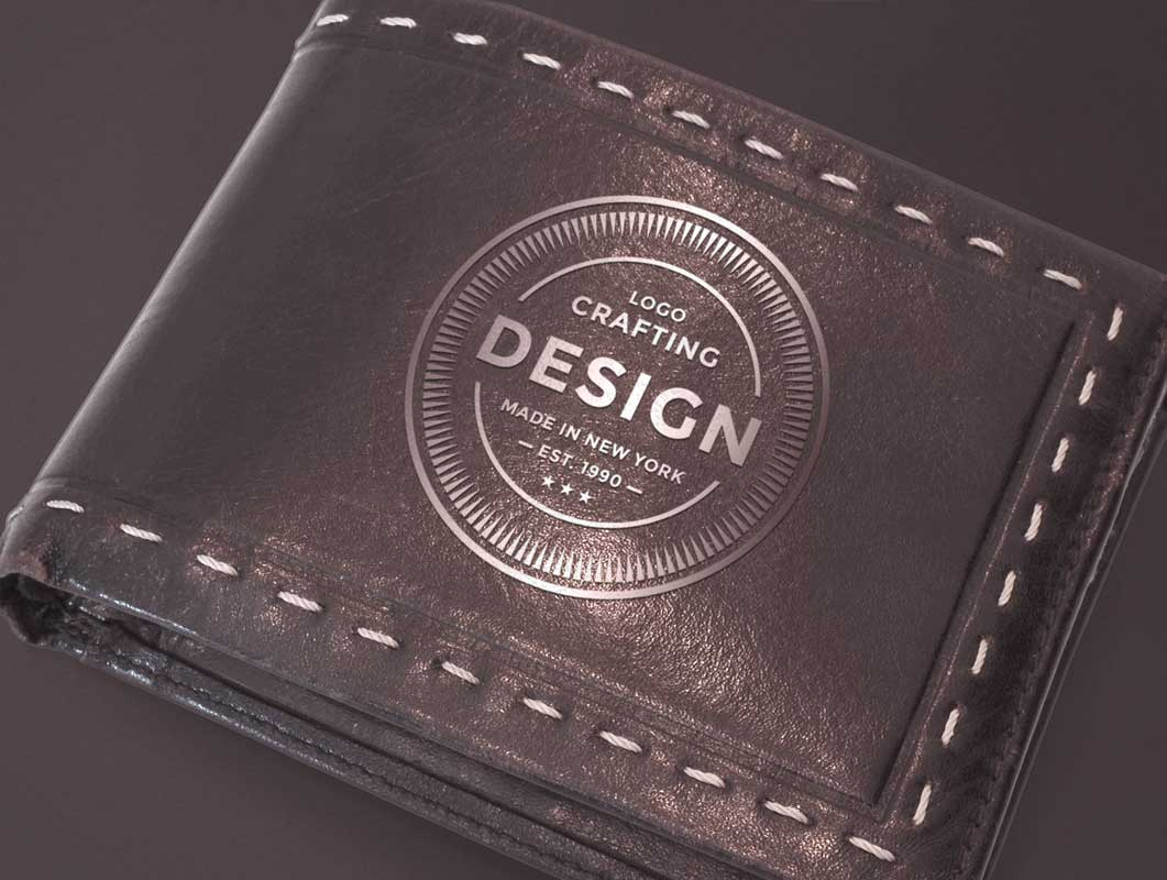 Leather Wallet PSD Mockup
