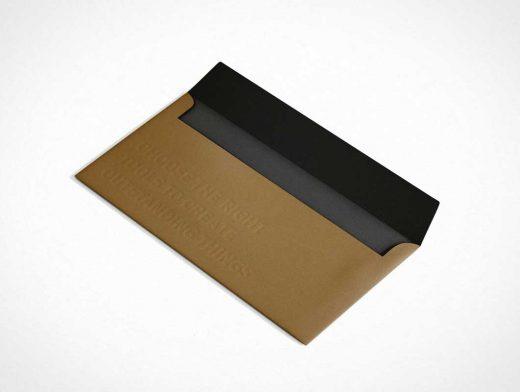 Envelope C5/6 PSD Mockup