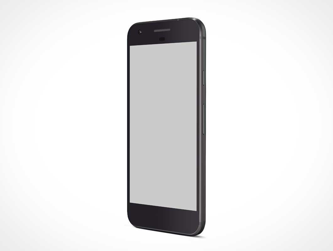 Google Pixel PSD Mockup Android Smartphone