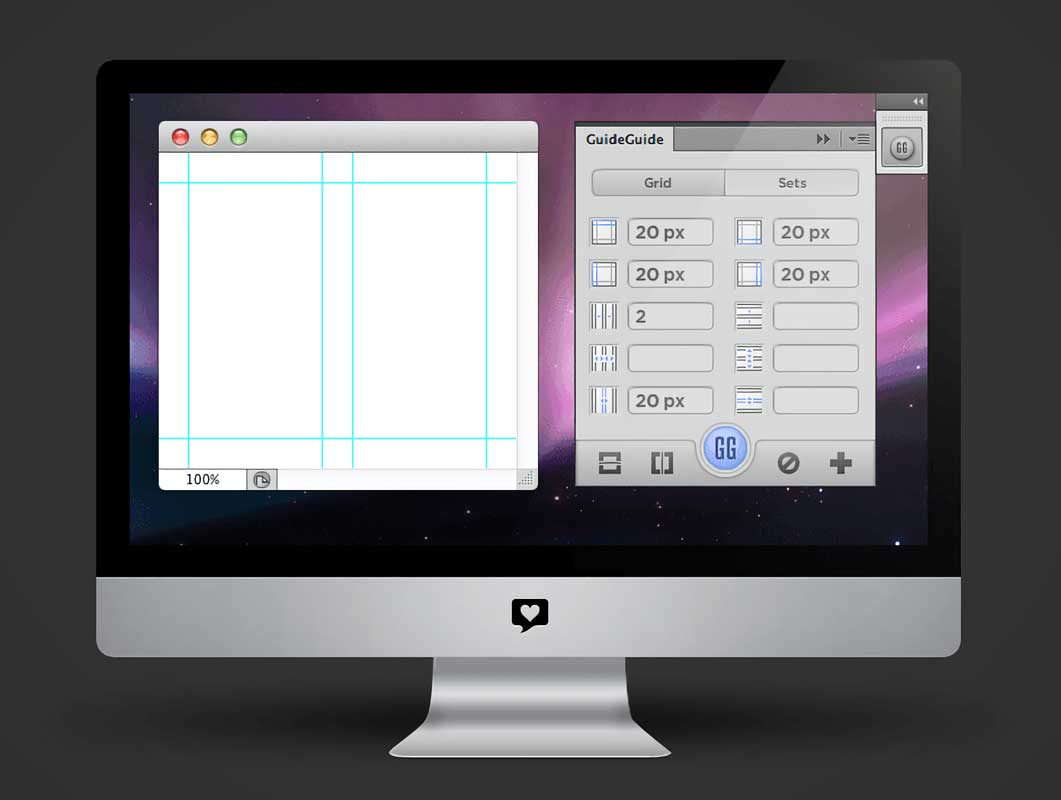 GuideGuide: Photoshop Panel That Makes Grids Painless