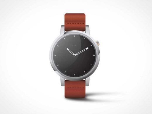 Moto360 Watch PSD Mockup