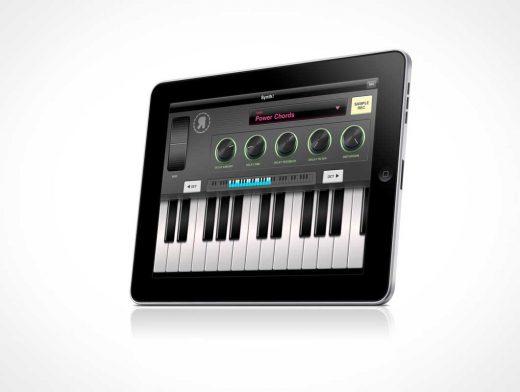 Original iPad Landscape PSD Mockup