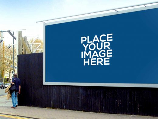 Outdoor Billboards PSD Mockup