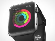 PSD Mockup of Apple Watch 360