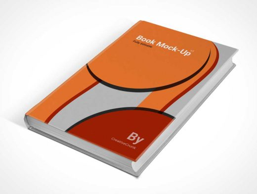 Photorealistic Book Cover PSD Mockup