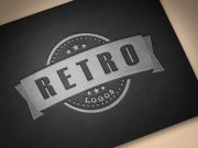 Embossed Leather Logo Text Effect PSD Mockup
