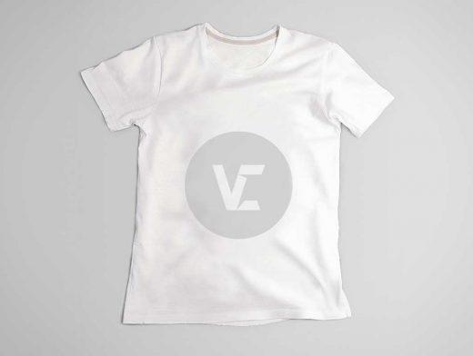 Free Unisex T-Shirt PSD Mockup