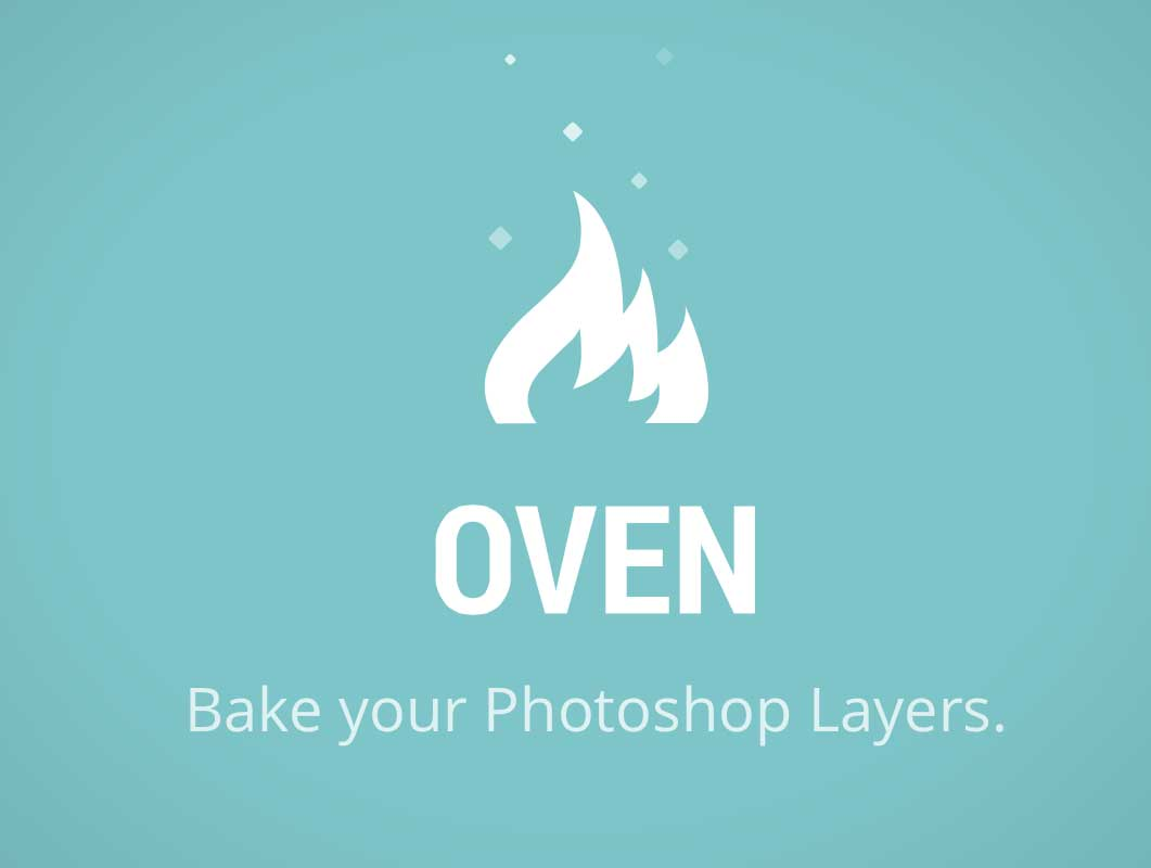 Oven: Bake your Photoshop Layers
