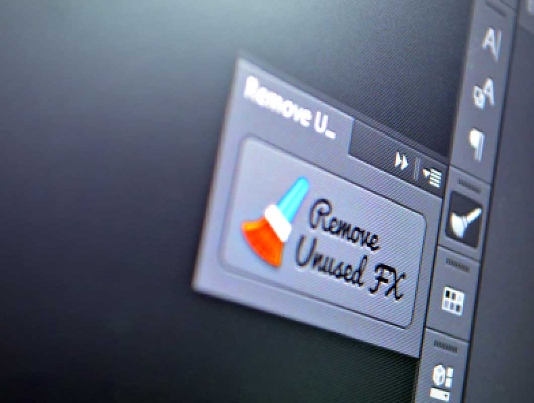 Remove Unused FX Photoshop Extension