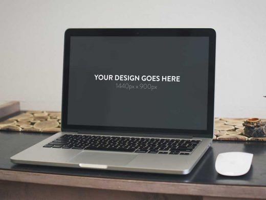 3 Elegant Macbook Pro PSD Mockups