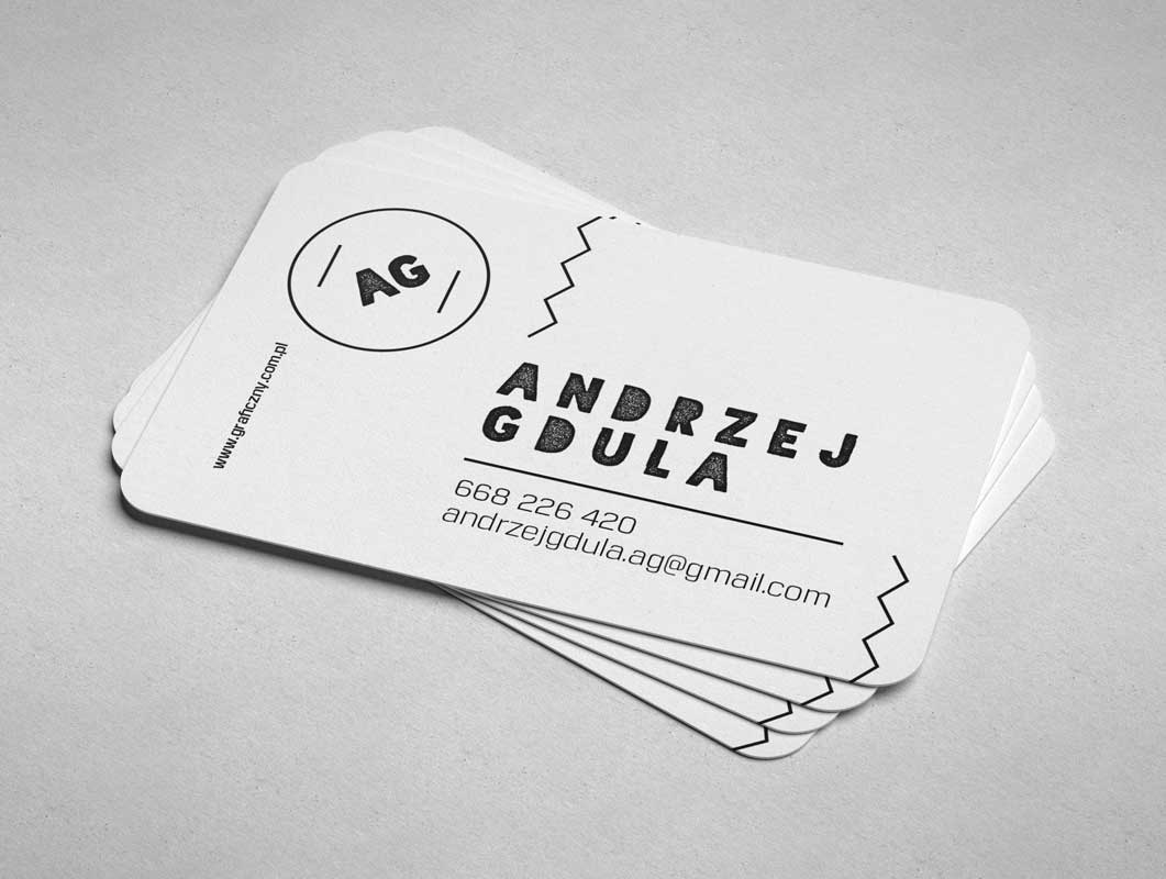 Business Cards With Rounded Corners Psd Mockup