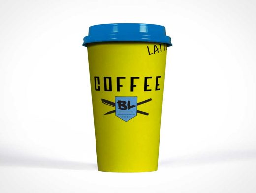 Coffee Cup Product Shot Photo PSD Mockup
