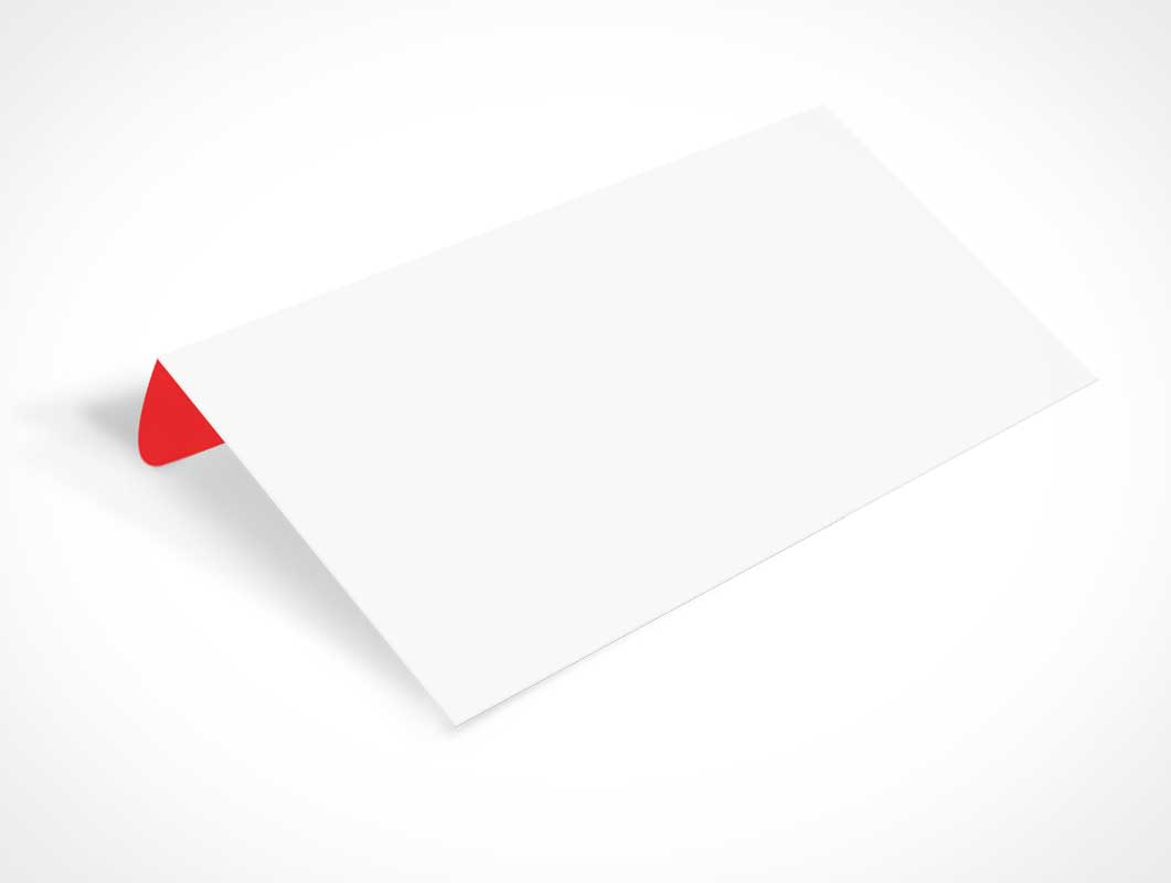 Envelope Propped Up PSD Mockup