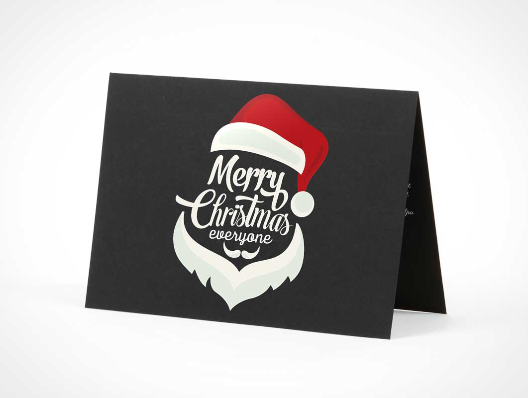 Event Greeting Card PSD Mockup