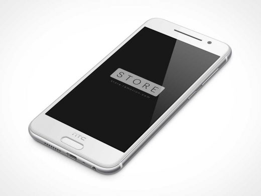 Free HTC One A9 PSD Mockup