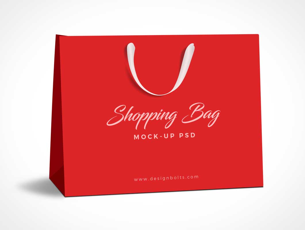 Free Premium Shopping Bag PSD Mockup