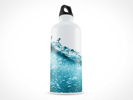 Liquid Thermos Bottle PSD Mockup