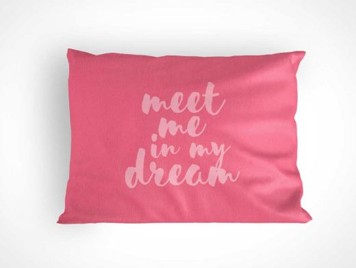 Pillow Case PSD Mockup