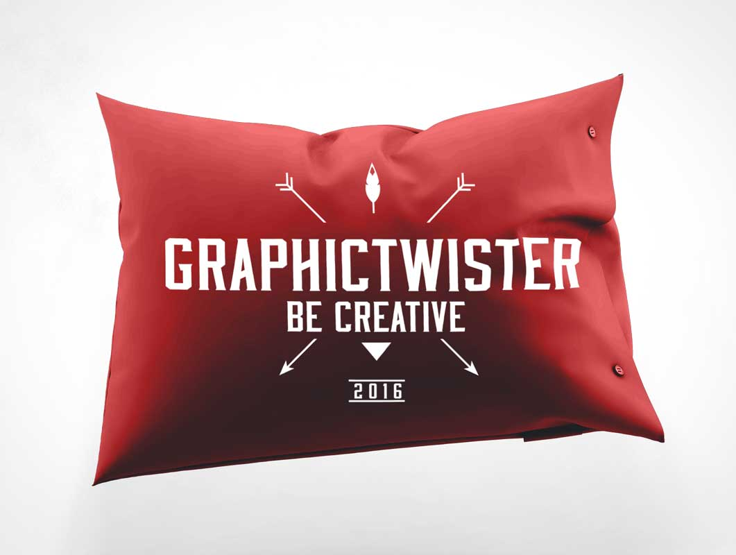 Pillow Cover PSD Mockup