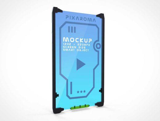 SciFi Smartphone PSD Mockup