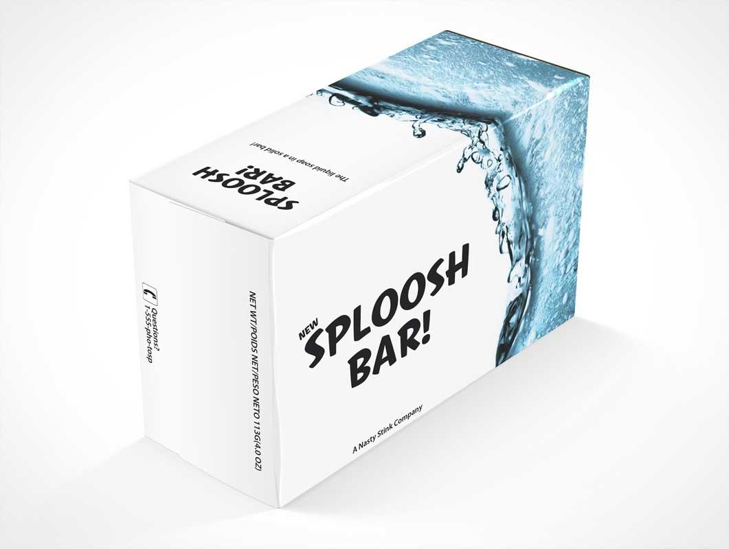 Soapbox PSD Mockup