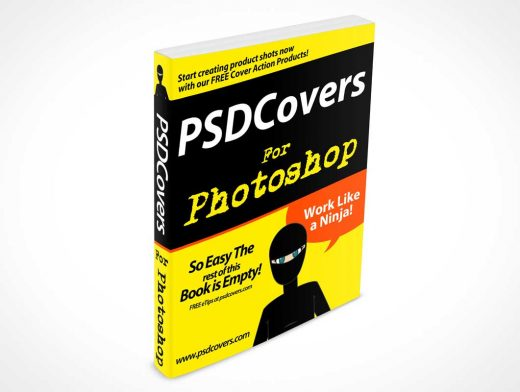 Softcover Resource Manual PSD Mockup