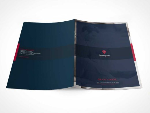 The Harmony Free Brand Book Photoshop Template
