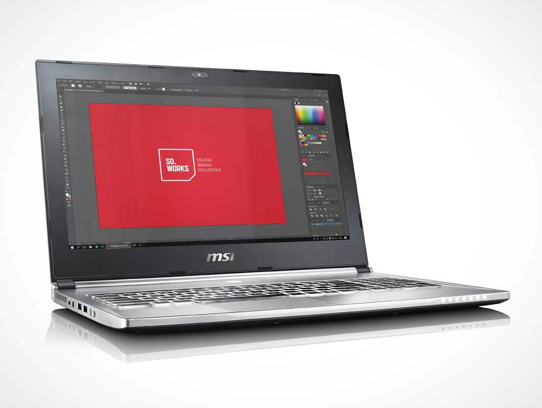 3 MSI PX60 Laptop Series PSD Mockups