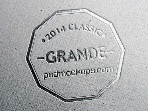 7 Photo Realistic Branding Logo PSD Mockups