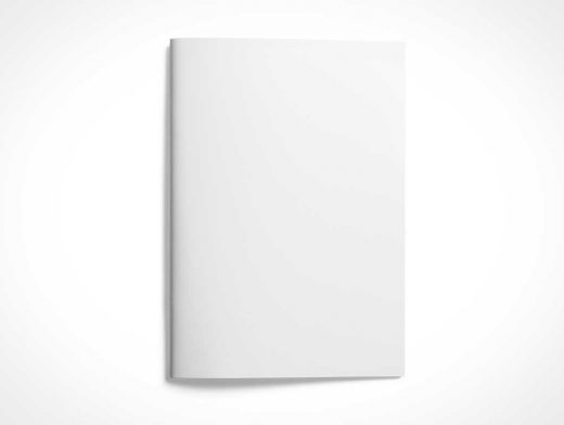 A4 Brochure Booklet PSD Mockups