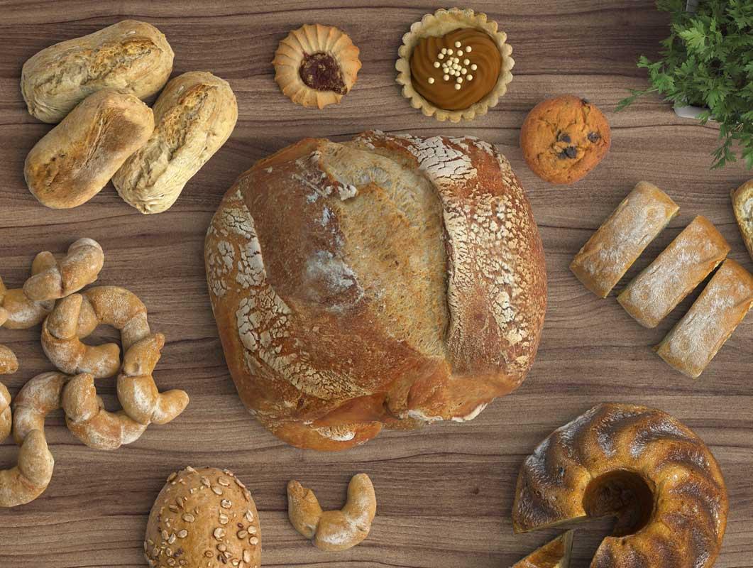 Bakery Scene Creator & Signage PSD Mockup Set