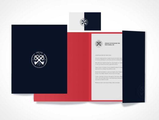 Branding & Identity PSD Mockup