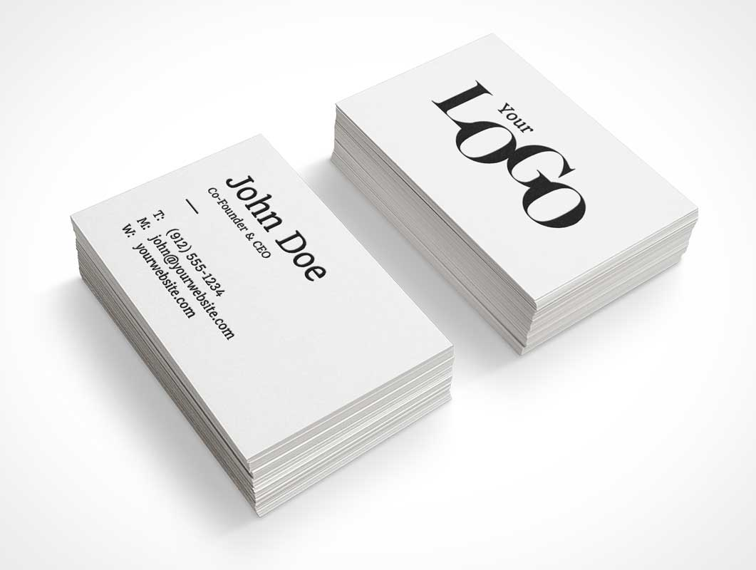 Business card dual stack psd mockup psd mockups business card dual stack psd mockup colourmoves