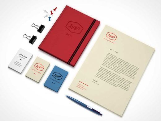 Corporate Identity & Branding PSD MockUp