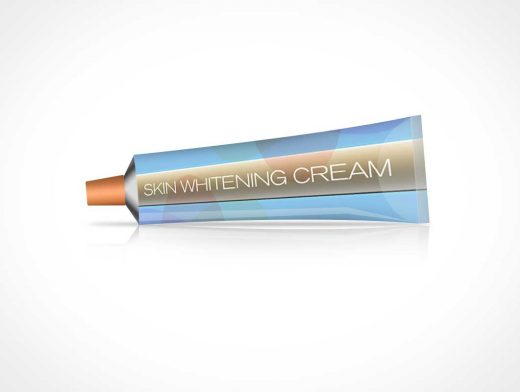 Cosmetic Cream Or Toothpaste Tube PSD Mockup