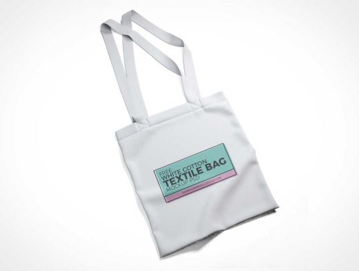 Cotton Tote Bag PSD Mockup