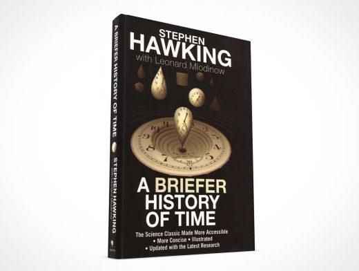 Hardbound Book Promotional Angle PSD Mockup