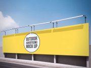 Landscape Billboard PSD Mockup